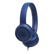 Fone De Ouvido Jbl Tune 500 Azul C/fio Novo - Nota Fiscal