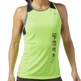 Playera Atletica Spartan Race Mujer Reebok Br0010