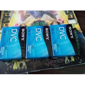3 Video Cassettes Digital Sony Mini Dv 60min Lp 90min