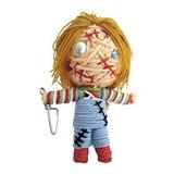 Juguete Cadena De La Muñeca Mundial Chucky Vudú Llavero Muñ