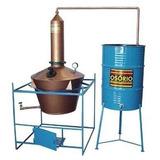 Mini Destilaria Etanol Faça 100 Litros Ao Dia + Brinde