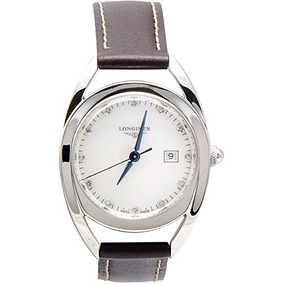 Reloj Longines Ecuestre Mujer Diamantes Mop Dial Cuadr W232