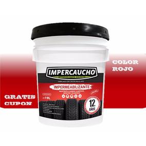 Impermeabilizante De Llanta Rojo Impercaucho Envio Gratis