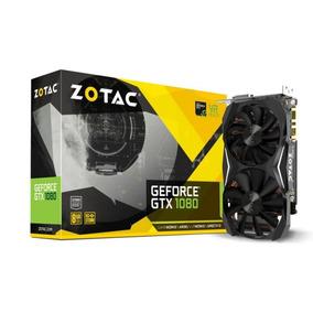 Placa De Vídeo Nvidia Geforce Gtx 1080 Mini 8gb Gddr5 Zotac