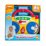 Sonajero Radio Musical Melodias Y Luces Para Bebe Winfun