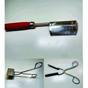 Kit Chapinha + Pente De Ferro + Modelador De Cachos
