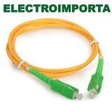 Cable De Fibra Optica Antel 2 Metros - Electroimporta