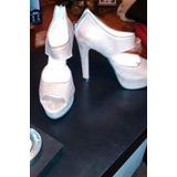 Zapato Con Plataforma Boca De Pez Marcela Luna