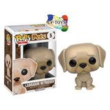 Perro Labrador Blanco Cachorro Funko Pop Pets Mascota Dog Cf