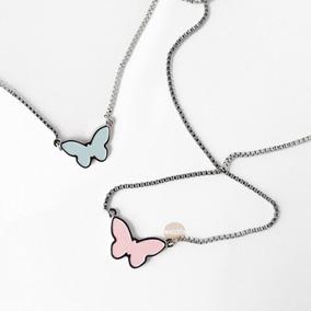 Collar Cadena Swatch Bijoux Farfallette Jpm079 Acero Esmalte