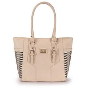Bolsa Shopping Bag Queens - Bege