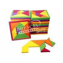 Pack 100 Pzas Tangram Didactico De Foamy Fomi + Envío Gratis
