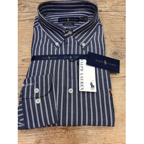 Camisa Social Masculina Slim Fit Ralph Lauren Listrada