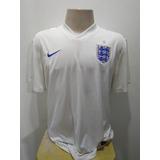 Camisa Umbro Selecao Inglaterra Branca - Camisas de Seleções de ... d70b9b85ae494
