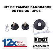 Jogo Kit De Tampas Para Sangrador Kitest E Planatc - 3pçs -