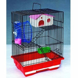 Jaula Hamster Golden Chino Ruso 3 Pisos Full Equipo Pethome