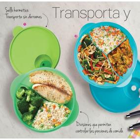 Tupperware Plato Con Divisiones 650 Ml Ideal Para Lunch