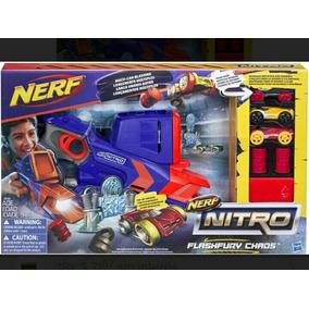 Nerf Nitro Flashfury Lanzador De Carros