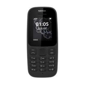 Celular Libre Barato Nokia 105 Negro/ Rom De 4mb/ Radio Fm²