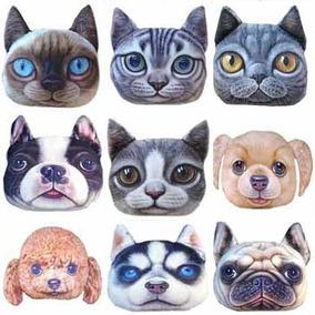 Cojines En Forma De Perro Gato Grades Decorativo Almohadas