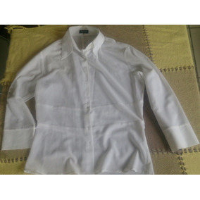 Camisa Social Branca Bob Store Tamanho M