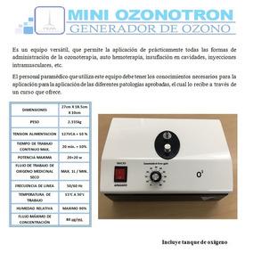 Generador De Ozono De Uso Medico Ozonoterapia Peak