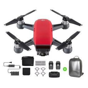 Dji Spark Fly More Combo Drone Rojo Sensores+ Mochila Regalo