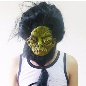 Máscara Assustadora De Látex Monstro Cabeludo