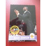 Cv Antigua Magic Johnson 1994 Hoops Conmemorativa Hof Nba