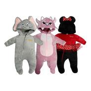 Kit 3 Mamelucos Disney Dumbo, Angel, Minnie A Precio De 2