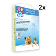 2x Microchip Para Mascotas -animales/certificado Y Pasaporte