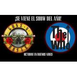 Plateas Preferenciales Para Recital De Guns N Roses Oferta