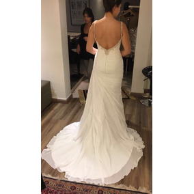 Lindo Vestido De Noiva Da Marca Espanhola Pronovias
