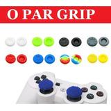 Grip Borracha Silicone Analógico Xbox 360 Oneps2ps3 Ps4-1par