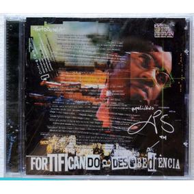 Cd Xis Fortificando Desobediência Cd Hip Hop Lacrado