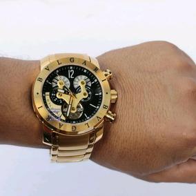 Relógio Masculino Bv Bullgari Preto Automático - Promoção