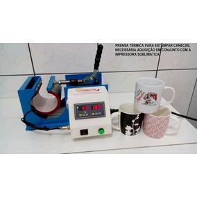 Máquina Para Estampar Canecas Compacta Print
