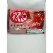 Paquete Kitkat Japones De Fresa