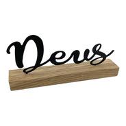 Letreiro De Mesa Enfeite Palavra Decoração Quarto Escritório