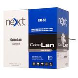 Cabo De Rede Utp 4p 305mts Next Cable Cat5
