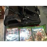 Se Vende Xbox One Con 3 Juegos En Disco Y 2 Juegos Digitales