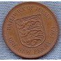 Jersey 1 New Penny 1971 * Elizabeth Ii * Escudo *