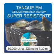 Kit Tanque 50.000l,geomembrana,testes, Fertilizantes E Curso
