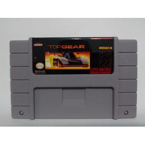 Top Gear 1 - Snes Super Nintendo