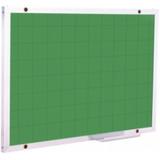 Lousa Quadro Verde Quadriculado 1,20 X 1,00 + Brindes