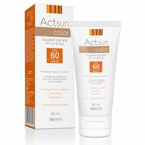 Protetor Solar Facial Actsun Color Fps60 Com 60ml