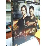 Dvd Filme - Oitava Temporada Completa - Supernatural Sobr...