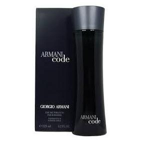 Perfume Armani Code Edt 125ml. 100% Original+ 02 Amostras