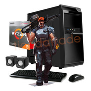 Pc Gamer Armada Computadora Amd Cpu Ryzen 3 8gb