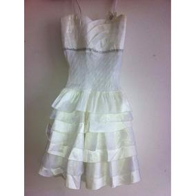 Vestido Blanco Para Niñas 12/13 Años